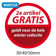 productstickers 2e artikel gratis winter STV-024