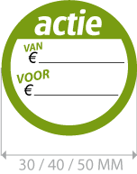 productstickers actie ETI-002