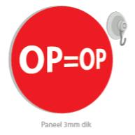 6 panelen OP=OP korting PA-20