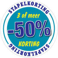 Etalagesticker stapelkorting winter blauw 3 artikel STA-115