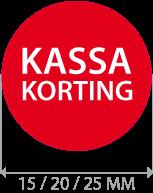 productstickers kassa korting rond STV-017