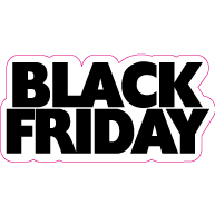 Raamsticker Black Friday VA-0101