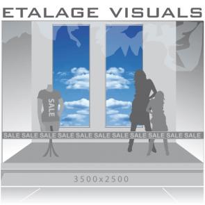 etalage visual wolken VIS-08