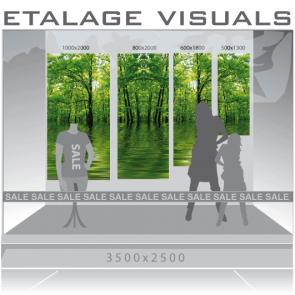 etalage visual bos VIS-008
