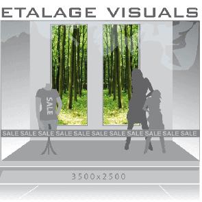 etalage visual bomen VIS-005