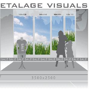 etalage visual gras VIS-003