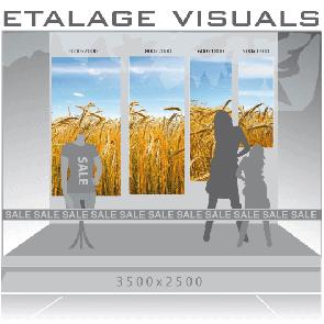 etalage visual graan VIS-002