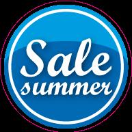 Vloersticker sale summer VLCI-0034
