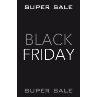 Poster Black Friday Super Sale BF-009