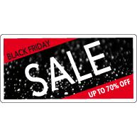 Black Friday Sale Raamsticker BF-010