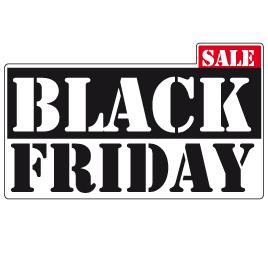 Black Friday Sale Raamsticker BF-003