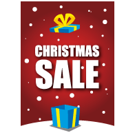 christmas sale poster VA-0107