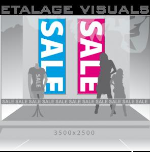 etalage visual sale vis-013