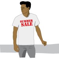 Etalageshirt summer sale ES-004