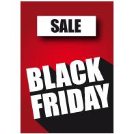 Black Friday sale poster BF-028