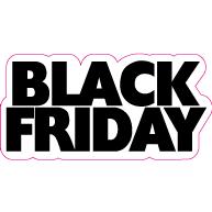 Raamsticker Black Friday VA-0101