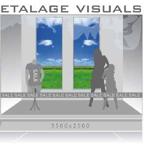 etalage visual weiland VIS-004